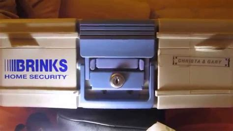 brinks home security box easily picked open