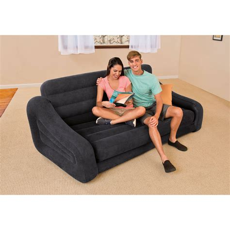 blow up couch bed inflatable pull out air sofa bed mattress sleeper blow up