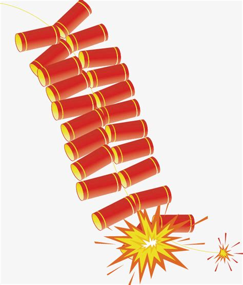 new year firecrackers vector firecrackers png vector material new year vector