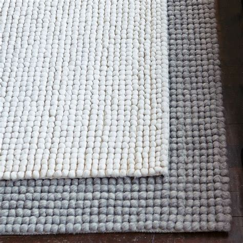 Pebble Rug West Elm white or grey pebble rug from west elm for the home