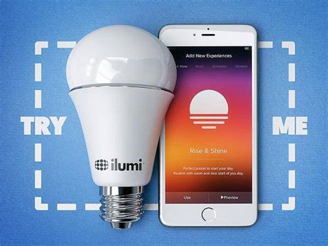 Ilumi Light Bulb by The New Ilumi Smart Bulb Provides You Personalized
