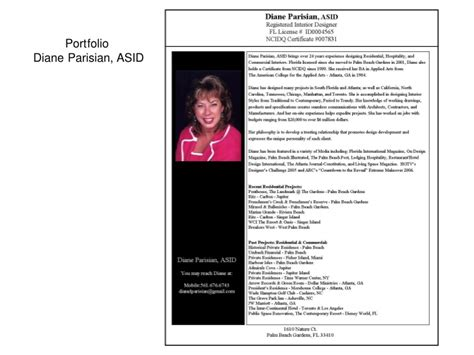 personal bio published template ppt pdf