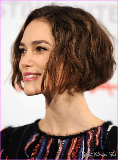 chin length curly layered haircut pictures of chin length layered bobs latestfashiontips com