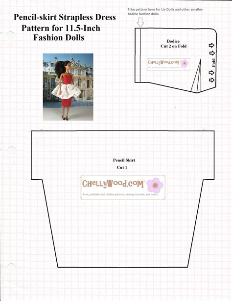 jointed doll clothes patterns free pattern page chelly wood