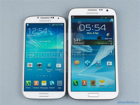 i samsung galaxy s4 samsung galaxy s4 vs samsung galaxy note ii call quality and conclusion phonearena