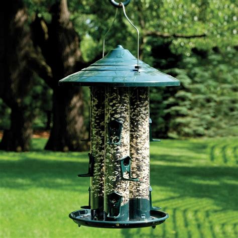bird feeders shop woodlink plastic bird feeder at lowes