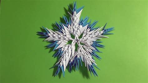 3d Paper Snowflakes - 12 easy 3d paper snowflake patterns guide patterns
