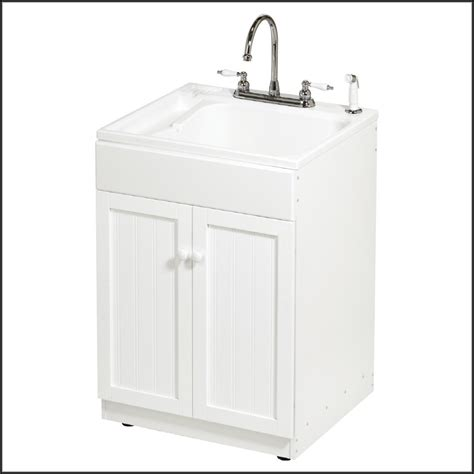 utility tub with cabinet laundry utility sink with cabinet cabinet home decorating ideas ramznwomab