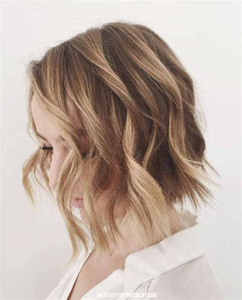 how to curl beach waves on short layered hair the beauty department your daily dose of pretty wave