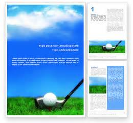 free golf templates golf word template 01768 poweredtemplate
