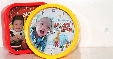 60th Birthday Giveaways Ideas Philippines - personalized clocks philippines mypartyblue com