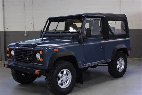 automobile air conditioning service 1994 land rover defender free book repair manuals beautiful 1994 land rover defender 90 only 50 556 miles 5 speed ac serviced