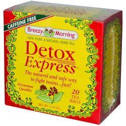 Metagenics Express Detox by Breezy Morning Teas Detox Express Tea 20 Tea Bags