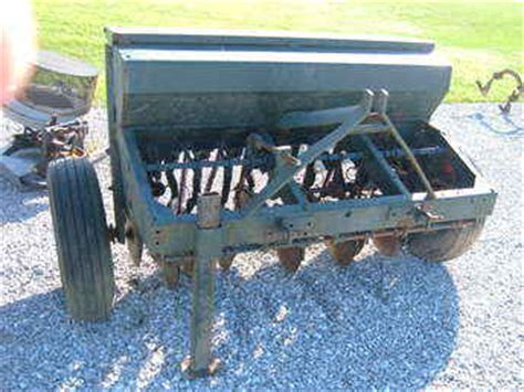 Sukup Food Plot Planter by Used Farm Tractors For Sale Food Plot Grain Drill 2010