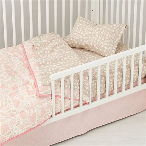 pink toddler bedding well nested toddler bedding pink the land of nod
