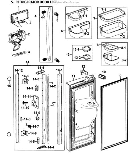 samsung refrigerator parts diagram samsung da97 05562c assy cover dispenser sub