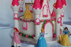 customised cakes by jen princess castle cake