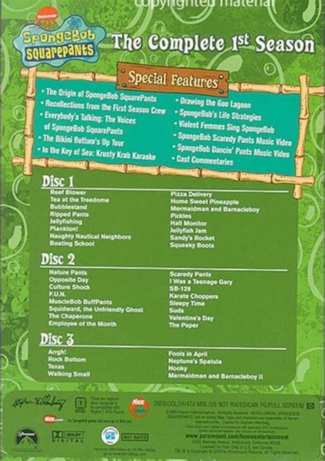 Seasons The Ring Of Volume 1 by Spongebob Squarepants The Complete Season Dvd 2003