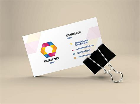 business card portfolio template top 18 free business card psd mockup templates in 2018