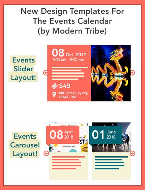 event calendar template for website the events calendar shortcode and templates