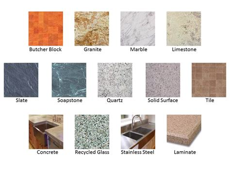 counter top material butcher block countertops vs granite tile quartz