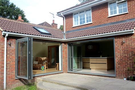 Kitchen In Sunroom by Kitchen And Garden Room Extension Inspired Building