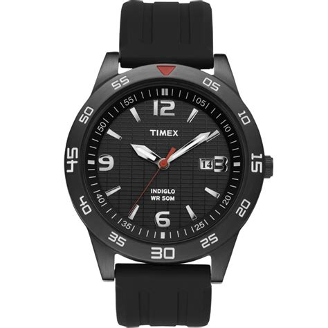 timex gents sports with black t2n694