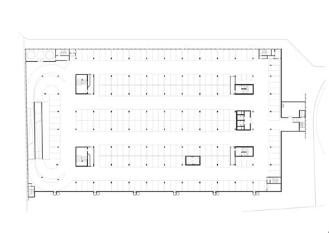 house plans with underground garage umwelt arena in spreitenbach switzerland by rene schmid