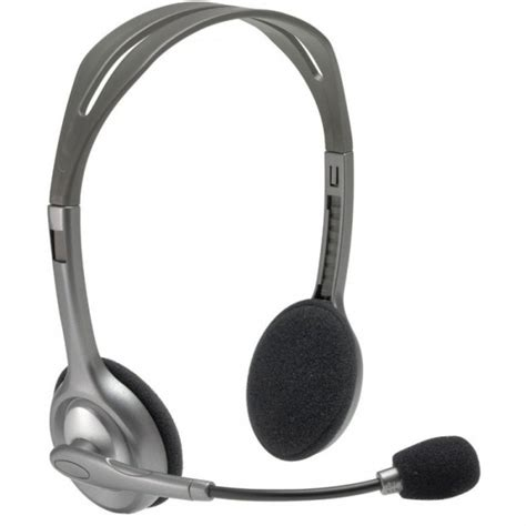 Headset Logitech H110 logitech h110 stereo headset it peripherals