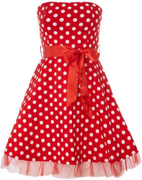 Dress Polkadot Ribbon ax ax polka dot dress with ribbon belt in