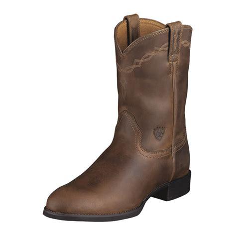 mens roper boots sale boots ariat heritage roper mens kent saddlery