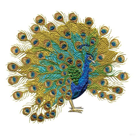 embroidery design of peacock swnpa130 peacock embroidery design