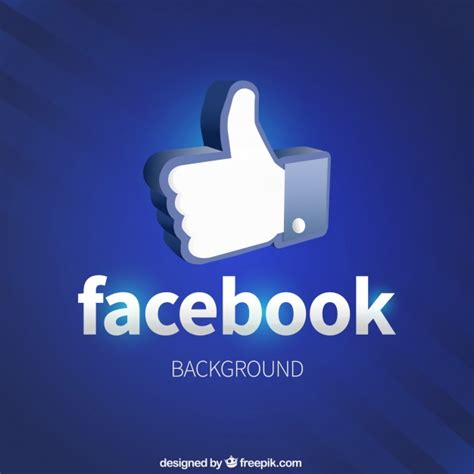 Like Facebook Icon Background Vector Free Download Free Like Us On Template