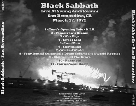 swing auditorium san bernardino roio 187 blog archive 187 black sabbath san bernardino 1972