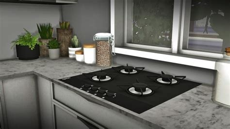 Louise Kitchen Set at MXIMS » Sims 4 Updates