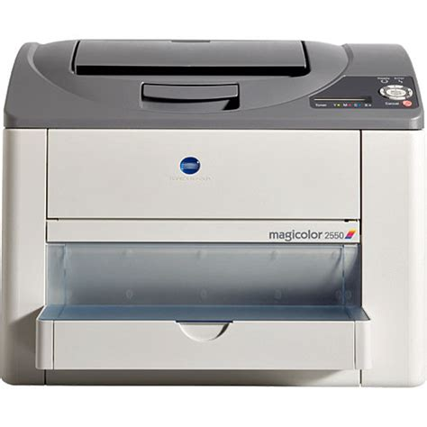 Printer Laser Warna Konica Minolta konica minolta magicolor 2550 dn color laser printer a00v014