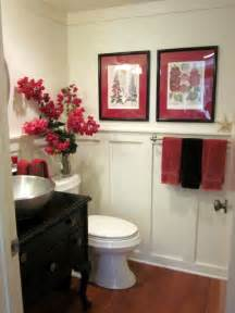 Small Red Bathroom Ideas Red Small Powder Room Designs Best House Design Ideas