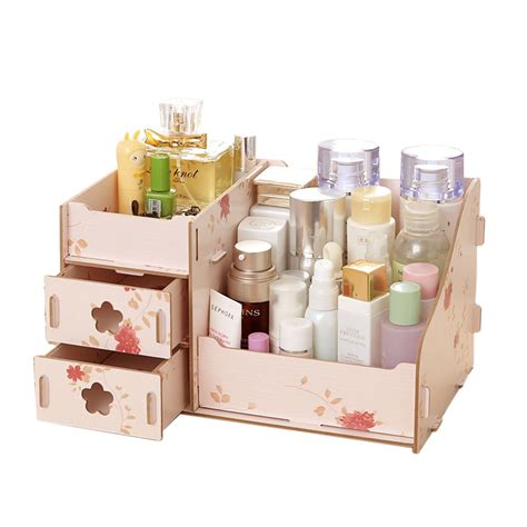 Handmade Storage Boxes - hoomall wooden storage box jewelry container makeup