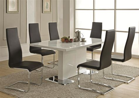 Bryn Modern Lacquer Dining Table Dining Table Modern