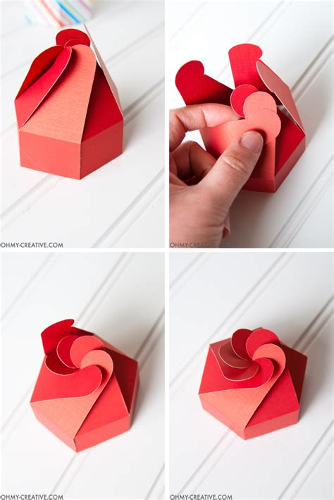 How To Make A Cookie Box Out Of Paper - diy cookie box gift printable oh my creative