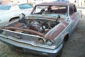 Ford Galaxie Parts Purchase Used 1963 Ford Galaxie 500 Parts Car Or Resto Rod