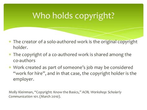 copyright act section 106 retaining author rights workshop