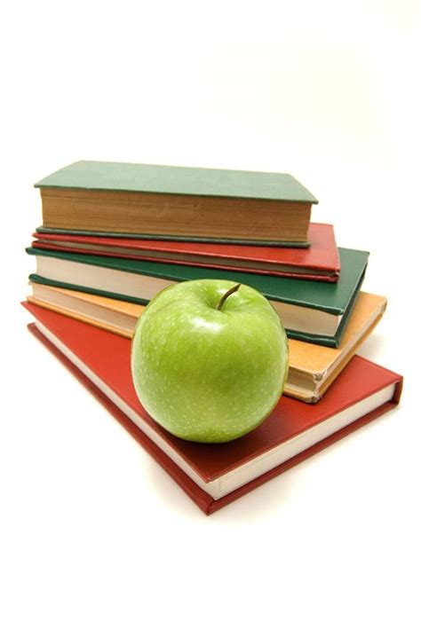 apple picture book stack of books with apple on top the equation