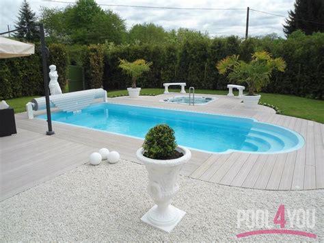 Garten Pool Gfk 1568 by Gfk Pool Set Great Gfk Becken With Gfk Pool Set