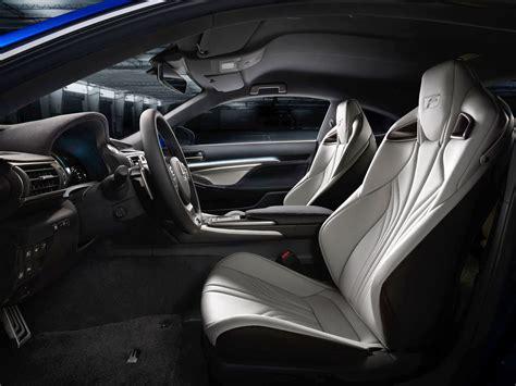 new lexus rcf interior lexus rc f seats