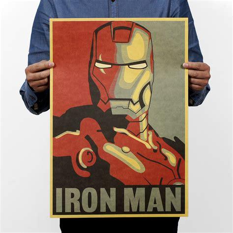 Plakat Castorama by Iron Man Comic Avatar Poster Rock Poster Kraft Paper Bar