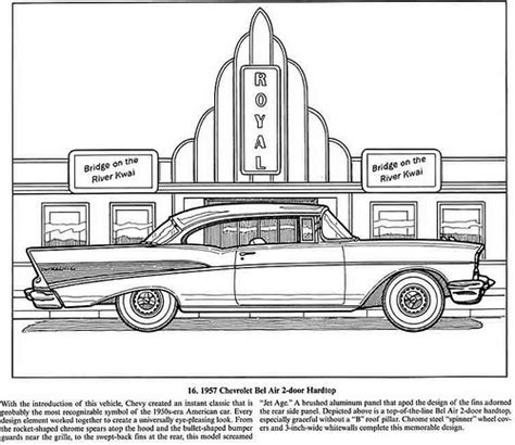 classic cars coloring book flickr photo