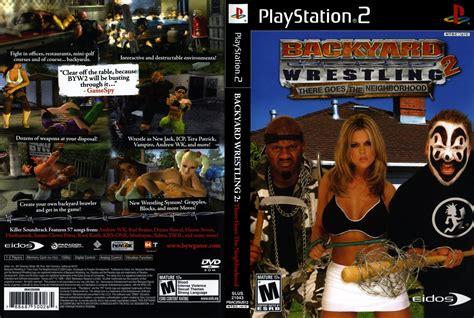 backyard wrestling 2 ps2 backyard wrestling 2 ps2 f1130 bem vindo a 224 nossa loja virtual