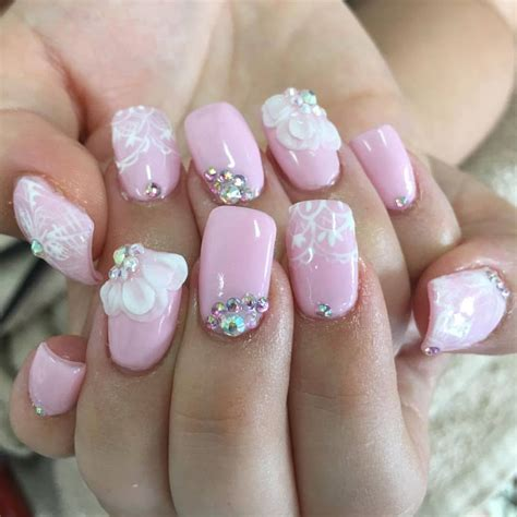 Wedding Dress Nail by 59 Unique Summer Wedding Nail Ideas To Make Your Nails