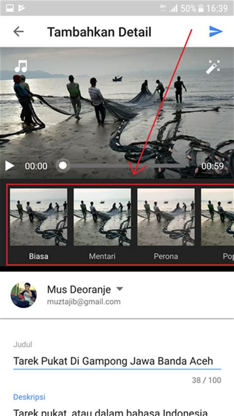 cara upload video di youtube lewat blackberry 2 cara upload video ke youtube lewat hp android lengkap
